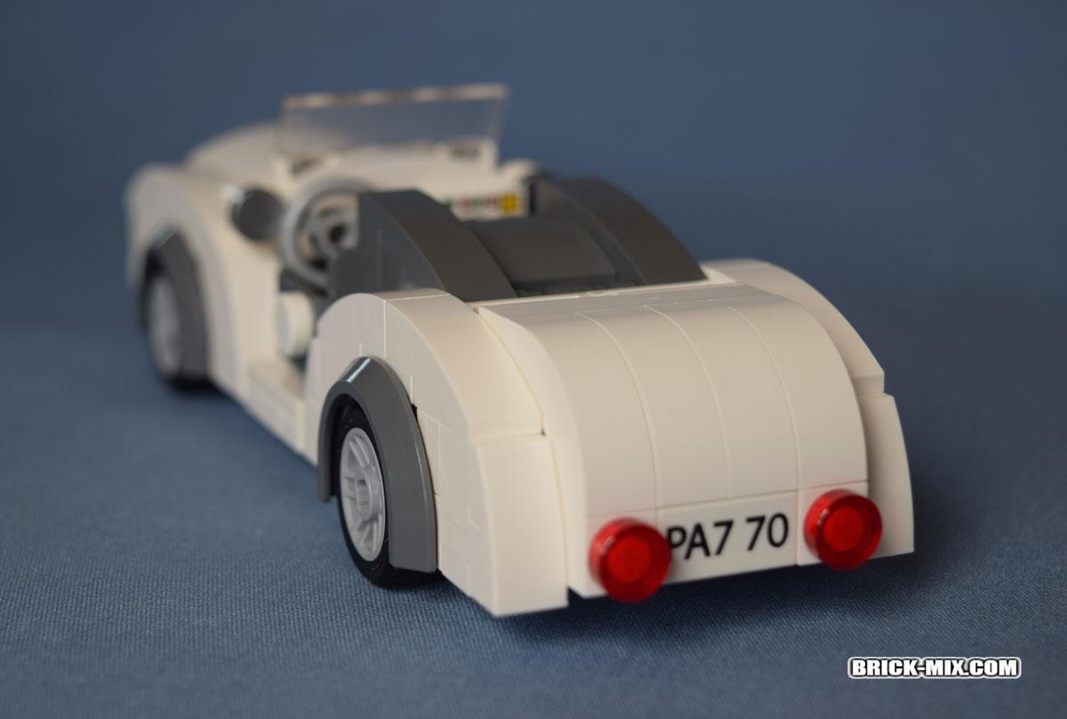 fancy car rear view